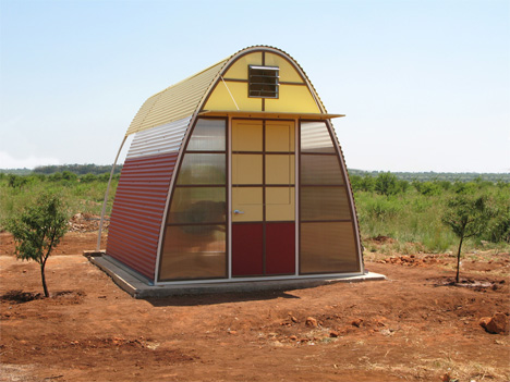 Tiny Houses Give Slum Dwellers a Safe Home in Just One Day