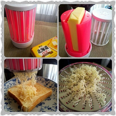 Kitchen Grater Lets You Use Butter Right From the Fridge