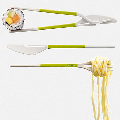 More Than a Spork: All-in-One Utensil Includes Chopsticks