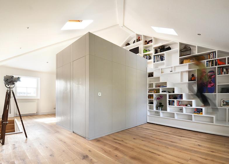Storage-Rich London Loft...