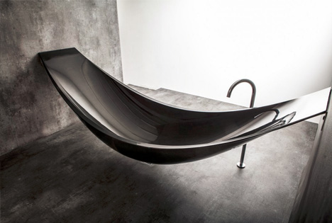 hamock suspended bathtub