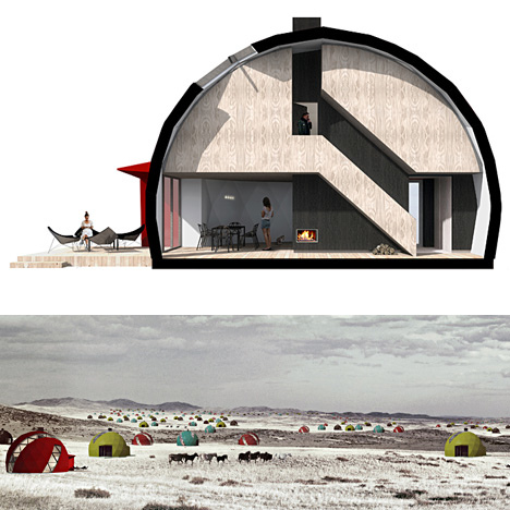 All Season Dome Home Design By No Rules Just Architecture