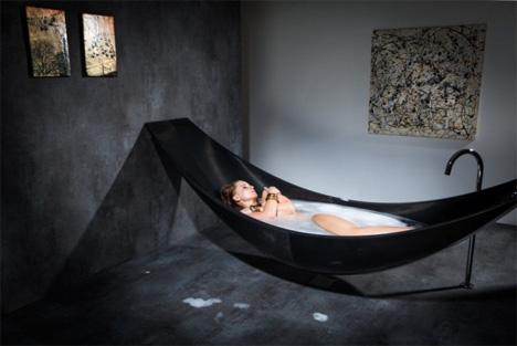 Charmant Suspended Bathtub: Hammock + Tub U003d Supreme Relaxation ...