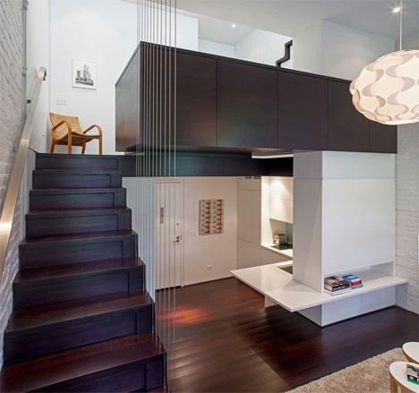 Stunning Manhattan Loft Makes Genius Use of Tiny Space