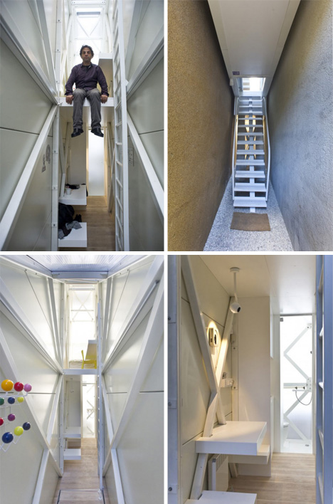 Narrow Escape Thin House Measures Just 4 Horizontal Feet