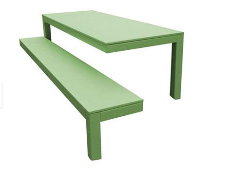 3 legged bench