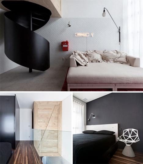 Micro Apartment Wall Storage 4