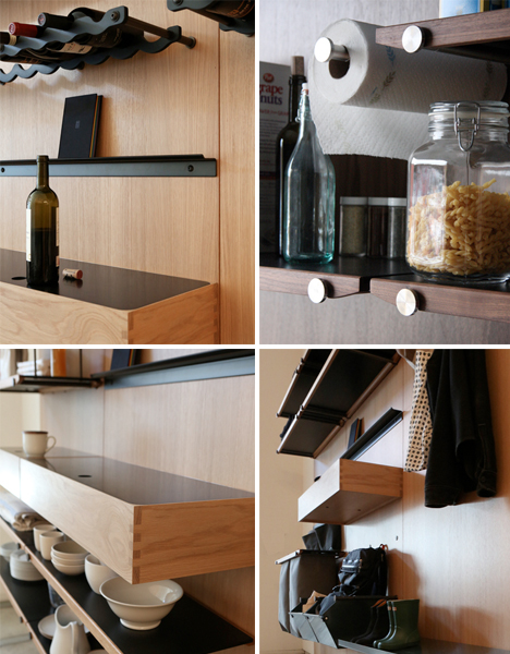 Modular Shelving System Adapts to User's Needs