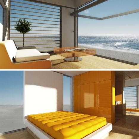 prefab elegant interior