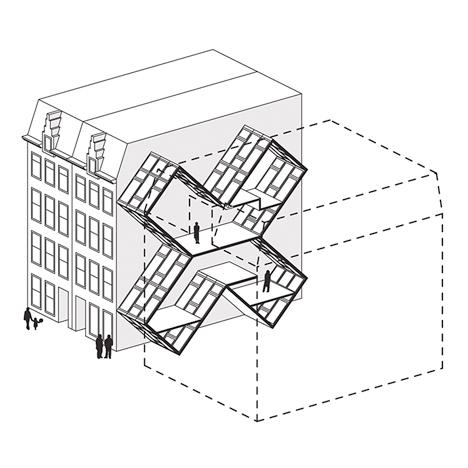 Narrow Micro Apartments 2