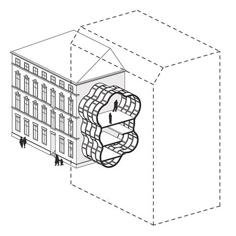 Narrow Micro Apartments 4