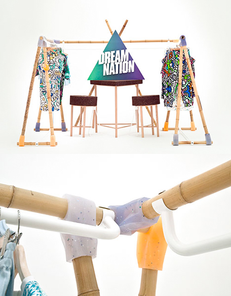 Patch Project DIY Furniture Joints Dream Nation Stand