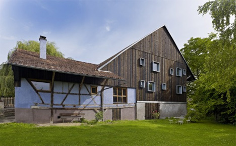alsace france farmhouse guest house renovation