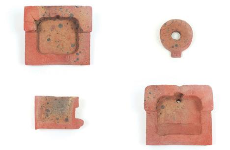 brick ceramic component parts