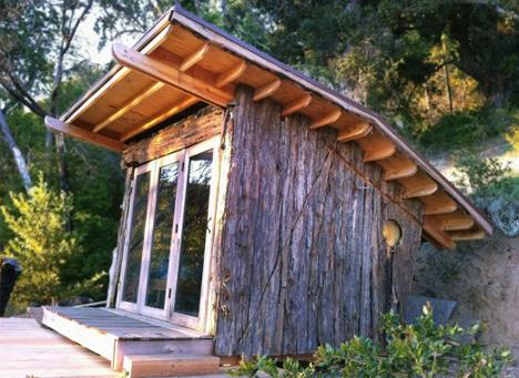 forest natural cabin design