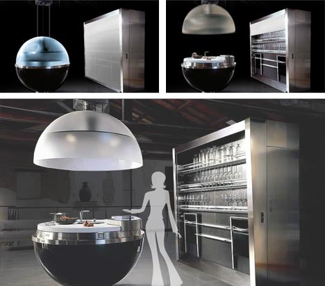 italian modular kitchen sphere