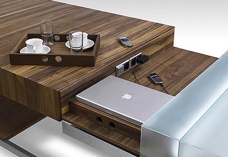 Secretive Workstation Kitchen Surface With Secret Features