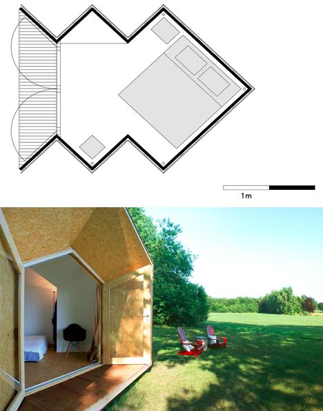 prefab home plan porch