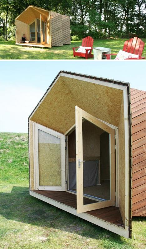 prefab micro home design