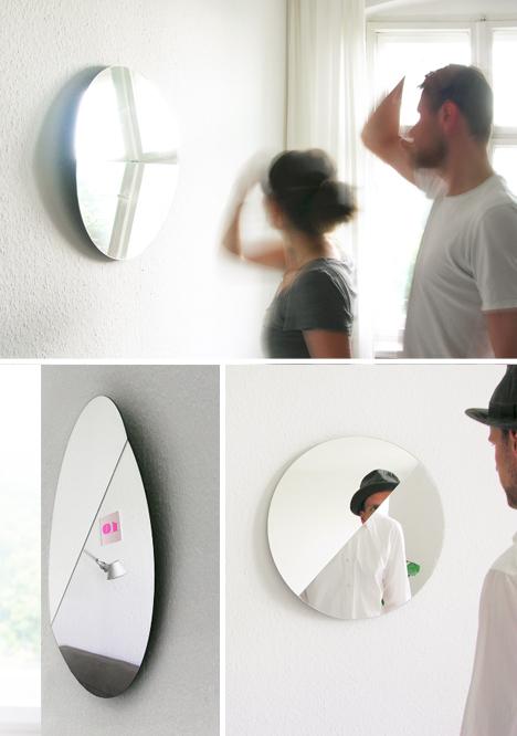 split mirror various angles