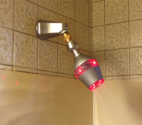 uji water saving shower head