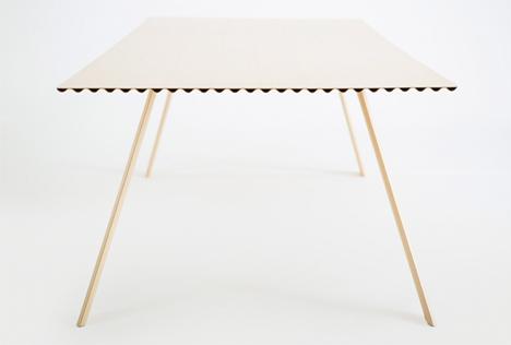 Hubert Lightest Timber Table 2
