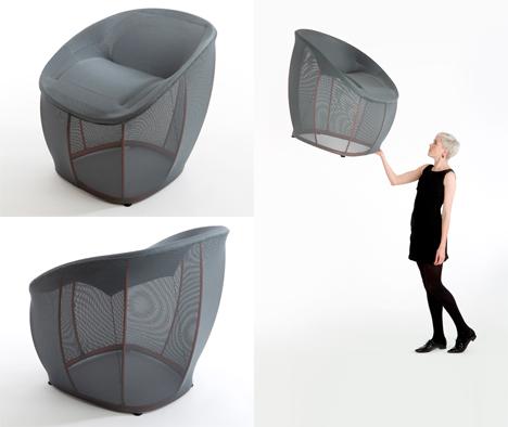 Hubert Lightweight Membrane Chair