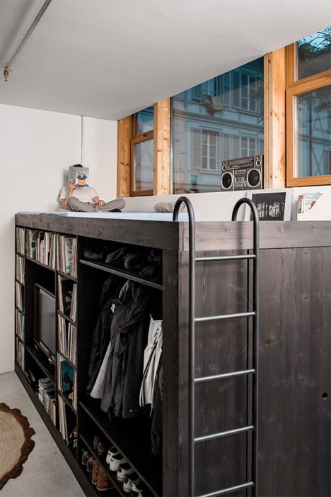Living Cube Studio Apartment Storage Furniture 4