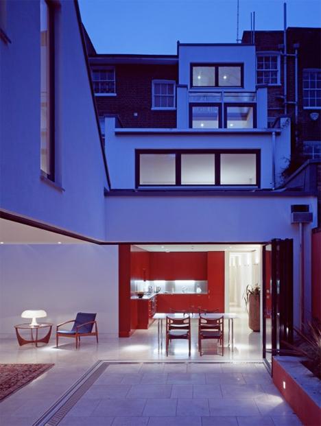 Narrow Stacked Gap House London 2
