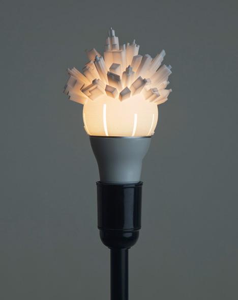 City Lamp Shade