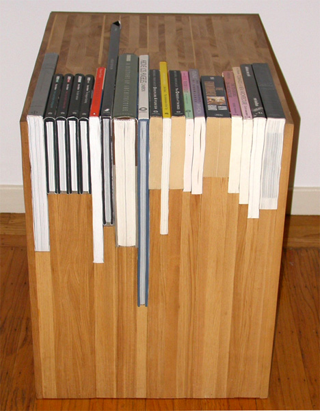 by dumond cherry with furniture rustic s shelves handmade d bookcase adjustable custom bookcases