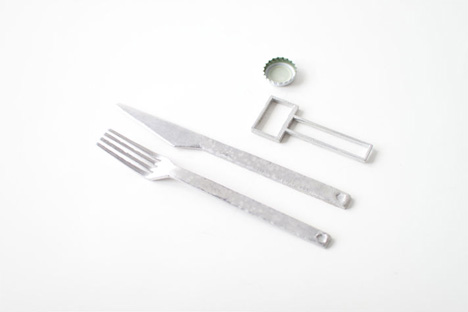 cutlery and bottle opener