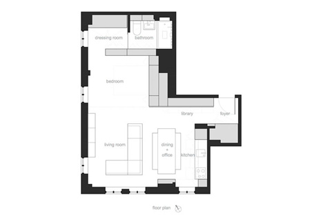 floor plan transformer apartment