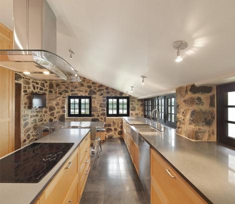 historic renovated kitchen