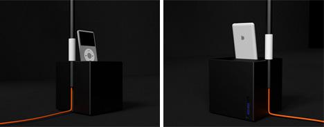 ipod iphone dock speakers