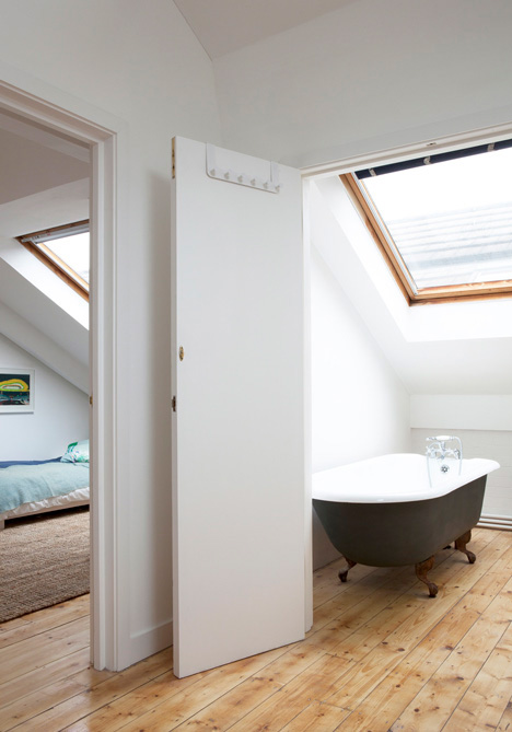 london warehouse conversion bathroom bedroom