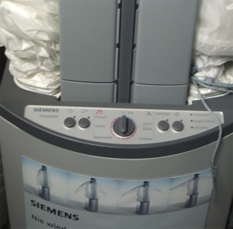 siemens german shirt ironing machine