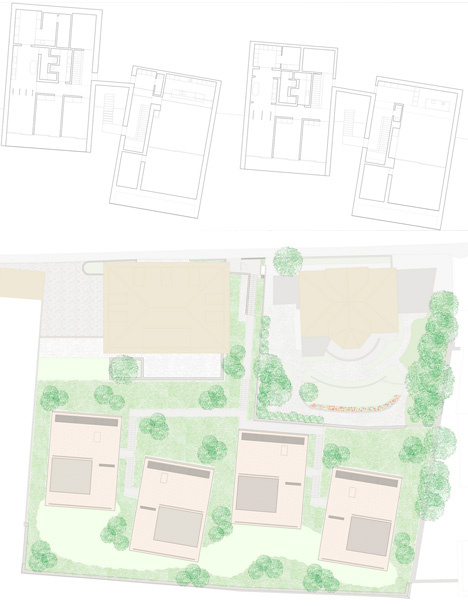sloped home site splans