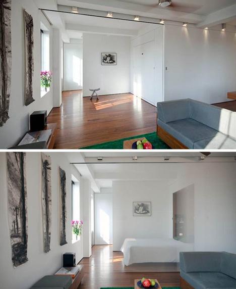 transformer apartment bedroom
