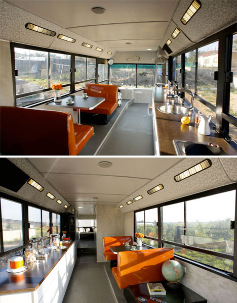Converted City Bus House 3
