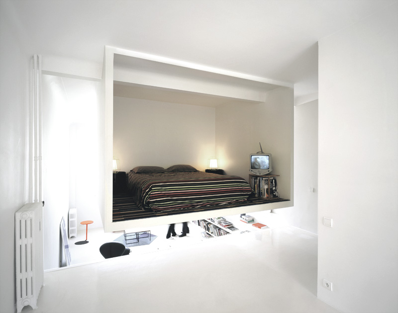 Elevated bedroom