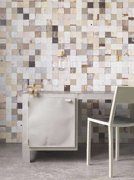 Scrap Wood Wallpaper Texture 2