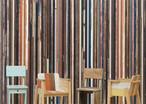 Scrap Wood Wallpaper Texture 3