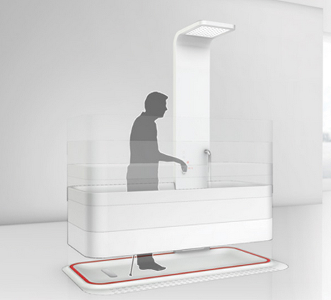 accessible mobile bath