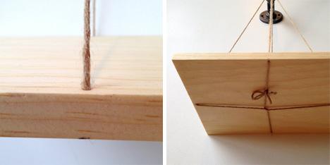 Balance Bookshelf Wooden Shelves