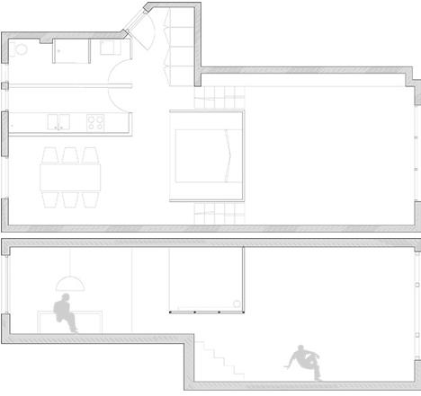 floor plan chez valentin apartment