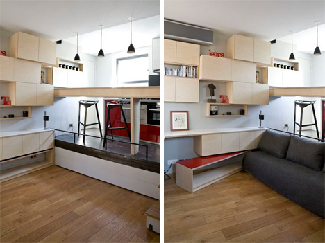 Ultra Tiny 130 Square Foot Apartment is Big on Surprises