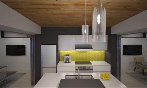 kitchen borealis modular home