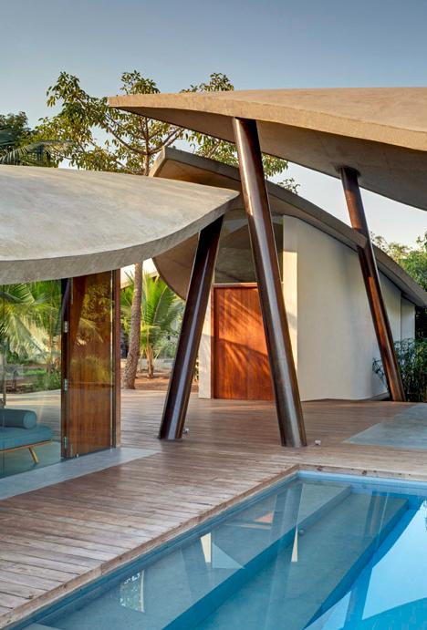 leaf house design
