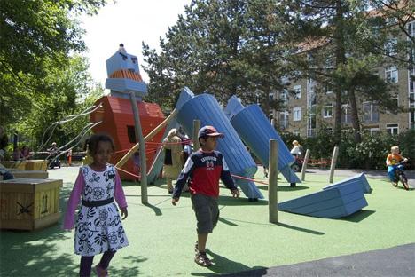 monster playground park